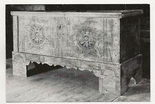 40/624 AK HANDWERK TRUHE  ZUNFTTRUHE DER HAFNER  SONDHEIM 1579  RHÖN-MUSEUM