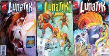 "Set of 3 ""LUNATIK"" By Marvel Universe flight 1 no.1-2-3 de 1995 - Version US"