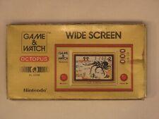 Nintendo Game & Watch Octopus Wide Screen avec Boite d'origine & facture