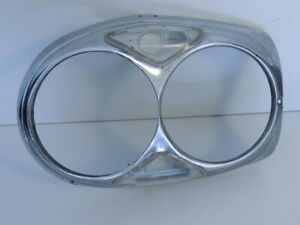 Mercedes Benz Headlight Door with Clear Lens 1964-71 220SE 250SE 280SE 3.5 300SE