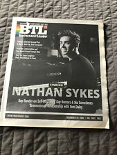 BTL BETWEEN THE LINES Nathan Sykes 11/24/16 EXCELLENT