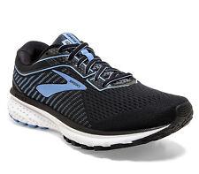 Laufschuh BROOKS® Ghost 12, Damen, DNA™ Loft Dämpfung, schwarz blau, Running