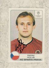 Radim Holub  AC Sparta Prag  Fußball Foto original signiert 371799