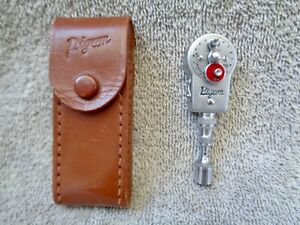 VINTAGE PIGEON SELF TIMER SHUTTER RELEASE WITH LEATHER CASE