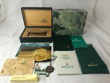 Antique Genuine ROLEX 16250 Datejust Thunderbird Watch Box 68.00.55 Garantie