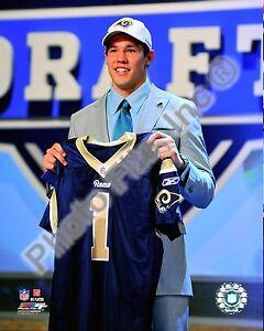 Sam Bradford Rams #1 Draft Pick 8x10 Photo