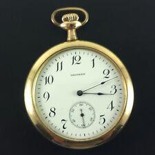 "Antique Waltham Pocket Watch "" Bond St. "" Gold Fill 14 Size S/N 18851292 Ca.1912"