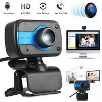 HD 1080P USB 2.0 Webcam Desktop Laptop Computer PC Camera Video With Microphone*
