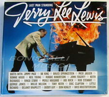 JERRY LEE LEWIS - LAST MAN STANDING THE DUETS - CD Digibook Sigillato
