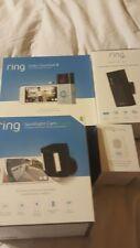 New! Ring Bundle Video Doorbell 2, Stick Up Cam, Spotlight Camera Battery, Chime