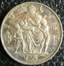 5 Lire - Regno d'Italia - 1937 - (Rara) - Vittorio Emanuele III