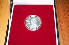 Serbia 1000 Dinara 2006. Nikola Tesla, SILVER coin, Proof. KM#43