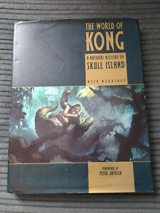 THE WORLD OF KONG NATUAL HISTORY OF SKULL ISLAND BOOK WETA WORKSHOP 1ST ED KING