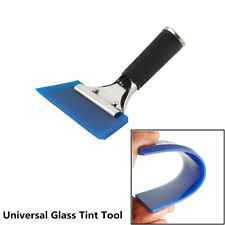 Universal Car Window Windshield Film Tint Blue Maxpro Squeegee With Handle Tool