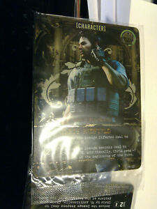 Resident Evil DBG Promo Cards: PR-001 Chris Redfield & PR-002 Jill Valentine NEW