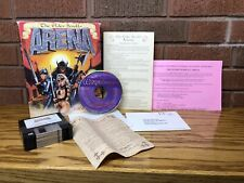 "The ELDER SCROLLS Arena Big Box PC (3.5"" Floppy Disks) Game Complete"