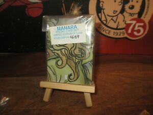 Manara-Collector limité&numéroté-promo card set-Sous cello-1996