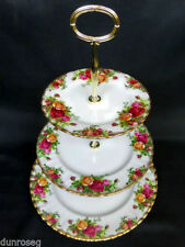 Unboxed Cake Stand British Royal Albert Porcelain & China