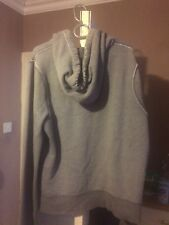 Men's Hollister Grey Hoodie In Size Large