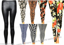 Jeggings Machine Washable Floral Leggings for Women