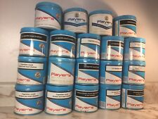 Lot Of 19 Vintage Player's Tobacco Tin Cans ~ Anciennes Cannes De Tabac Metal