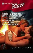 What I Did On My Summer Vacation...: The Guy DietLight My FireNo Reservations