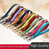 Replacement Patent Leather Wrist Strap Casual Wristlet Purse Handbag Accessories
