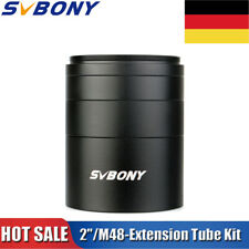 """2""""/M48-Extension Tube Kit 5mm10mm 15mm 30mm M48x0.75 for Solving Spacing Problem"""