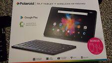 """Polaroid 10.1"""" Android 6.0 Marshmallow Tablet + Wireless Keyboard"""