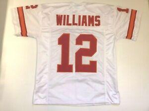 UNSIGNED CUSTOM Sewn Stitched Doug Williams Tampa White Jersey - M, L, XL, 2XL