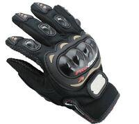 Gants pour scooter moto quad dirt noir avec protection **