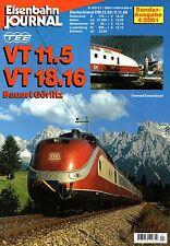 Eisenbahn Journal Heft Br  VT 11.5 601 TEE VT 18.16 DR Bauart Görlitz (D1)