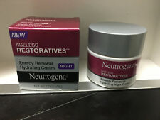 Neutrogena Ageless Restoratives Energy Renewal Hydrating Night Cream 1.7oz