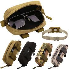 Taktisch Brillenetui Sonnenbrillenetui Molle Brille Tasche Hüfttasche Brillenbox