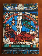 Souvenir Booklet CHARTRES CATHEDRAL France MEDIEVAL STAINED GLASS & Sculpture