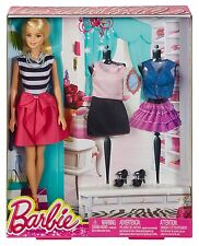 BARBIE DOLL & FASHION GIFT SET CML80 LIFE IN THE DREAMHOUSE *NEW*