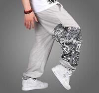 Plus Size Men HIP HOP SkateBoarding Dance SweatPants Pure Cotton Pants Trousers