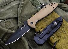 "FOLDING BLADE -Kershaw CQC-4K (6054BRNBLK) 4.2"" Framelock Knife"