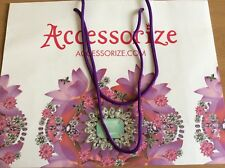 Accessorize 45x35x15 cm Large Shopping Paper Carrier Bag Collectable Gift Bag