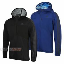 adidas Mens Cool365 Hooded Tracksuit Top Full Zip Track Jacket Hoodie Hoody