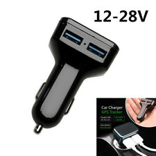 Car Charger GPS Tracker GPS GSM Wifi Tracking Call SMS Voice Monitoring Recorder
