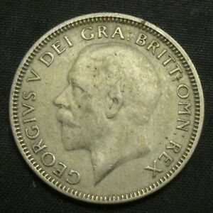 1934 Great Britain Silver Shilling GEORGE V KM# 833 UNCIRCULATED