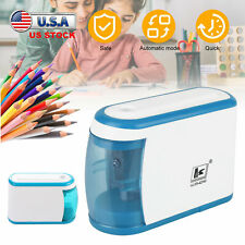Electric Pencil Sharpener Usb Powered Battery Operated Kids Home School Office