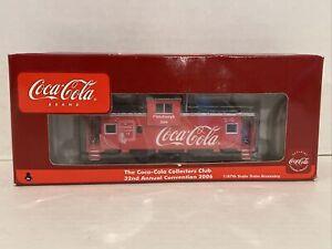 2006 Pittsburgh Coca Cola Train Caboose By Athearn 1/87 Scale Brand New In Box