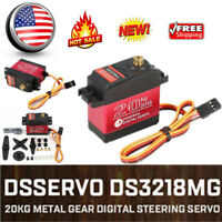 DSSERVO DS3218MG 20kg Metal Gear Digital Steering Servo for RC Car Truck B4B2