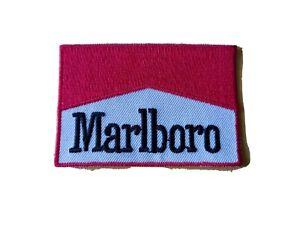 MARLBORO Motor Racing / Motorsport Patch Sew / Iron On Badge