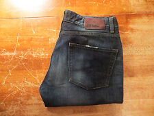 HUGO BOSS ORANGE 25 ZIP NEVER REGULAR FIT JEANS (EUC) SIZE 35X31 SUPER NICE
