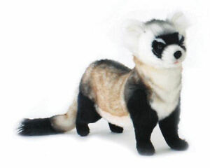 "NEW with Tag - Ferret (Black Foot) Plush Stuffed Animal 16"" by Hansa Toys 5188"