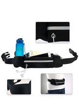 Unisex Waist Belt Bum Bag Jogging Running Travel Elastic Pouch Keys Mobile Cash