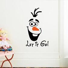 3D Olaf Wall Sticker PVC Home Decoration Vinyl Wallpaper Art for Kids #UK STOCK#